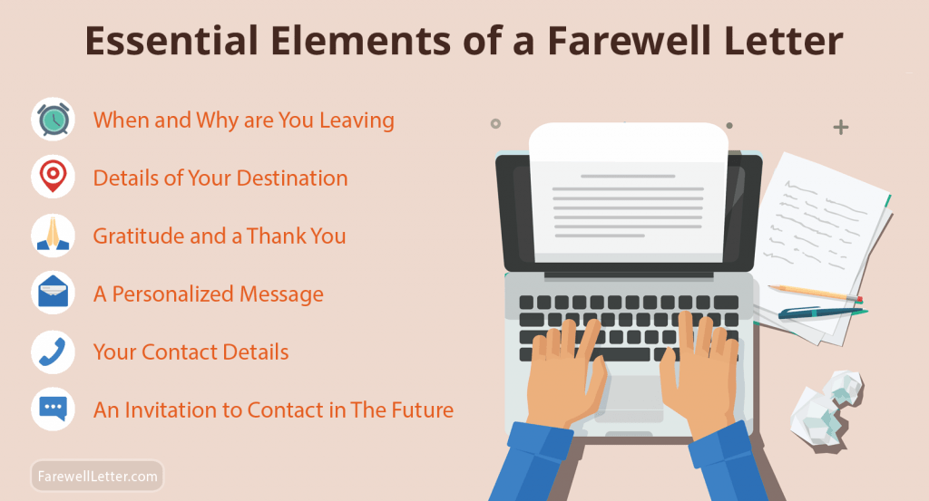 Essential Elements of a Farewell Letter or Email