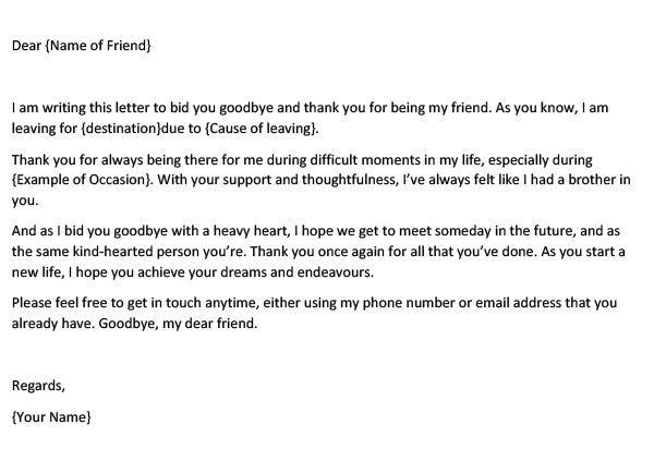 A Goodbye Letter To The Best Friend I Ever Had